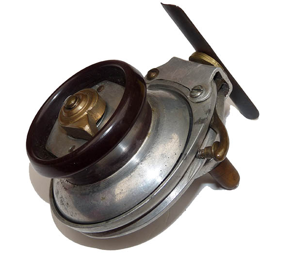Unusual vintage fishing reel