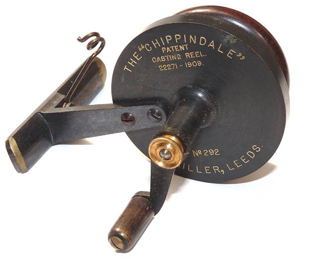 Chippindale threadline reel