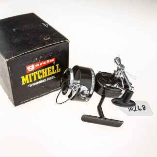 Mitchell 811 right hand wind spinning reel - new old stock with original box and paperwork