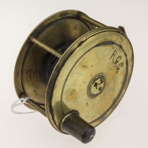 Farlow Brass Patent Lever Fly Reel 4 1/2 inch