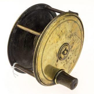 Farlows Brass 4 1/2 inch Patent Lever Reel No 2261