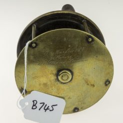 Farlows 4 3/4 inch Brass Plate Wind Reel