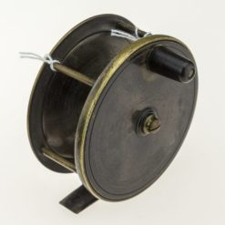 Brass Plate Wind Fly Fishing Reel
