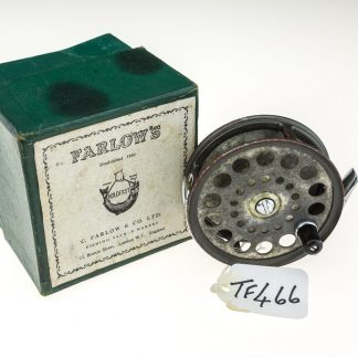 Farlow's Grenaby 3 1/2 inch fly reel plus original box