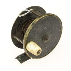Chas Farlow & Co. Brass Plate Wind Fishing reel 3 inch