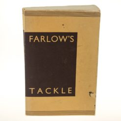 Farlow's Tackle Catalogue 94th Edition 1940