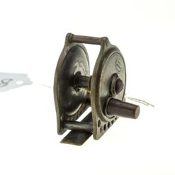 The Fishing Gazette Winch antique brass fishing reel