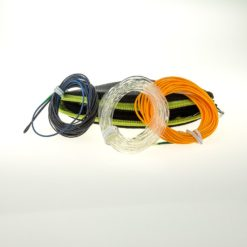 Line wallet and 3 fly line tips