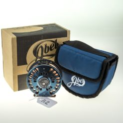 Abel Super 7 Fly reel Deep Blue colour