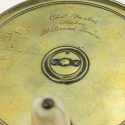 Chas Farlow Brass 4 3/8th inch Salmon Reel