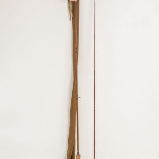 J.S. Sharpe Scottie Impregnated 9' #6/7 spliced cane fly rod made for Farlow's.
