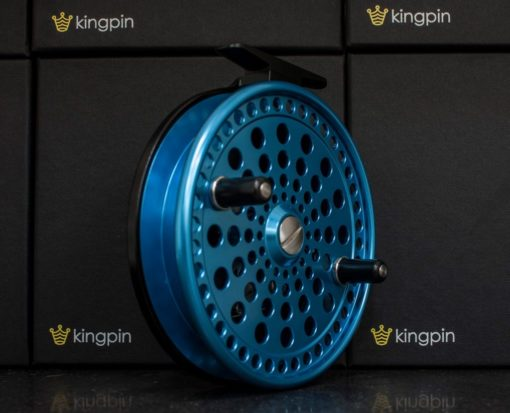 Kingpin Imperial 475 Float Reel in Blue-Black