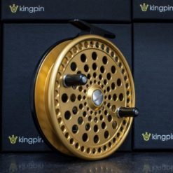Kingpin Imperial 475 Float Reel in Gold-Black