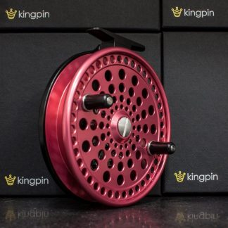 Kingpin Imperial 475 Float Reel in Pink-Black