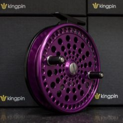 Kingpin Imperial 475 Float Reel in Purple-Black