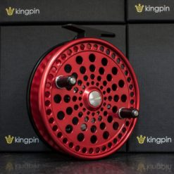 Kingpin Imperial 475 Float Reel in Red-Black