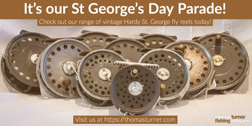 Hardy St George fly reels