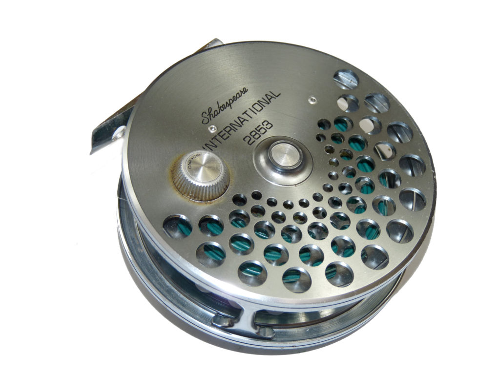 Shakeapeare Magnesium 2853 super light trout fly reel with line ...